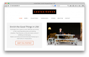 Louise Cohen kiest voor CAP5 Wordpress Hosting
